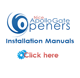 Apollo Gate Openers Installation Manuals