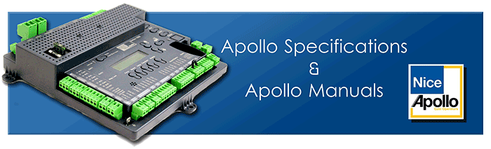 Apollo Gate Opener Manuals