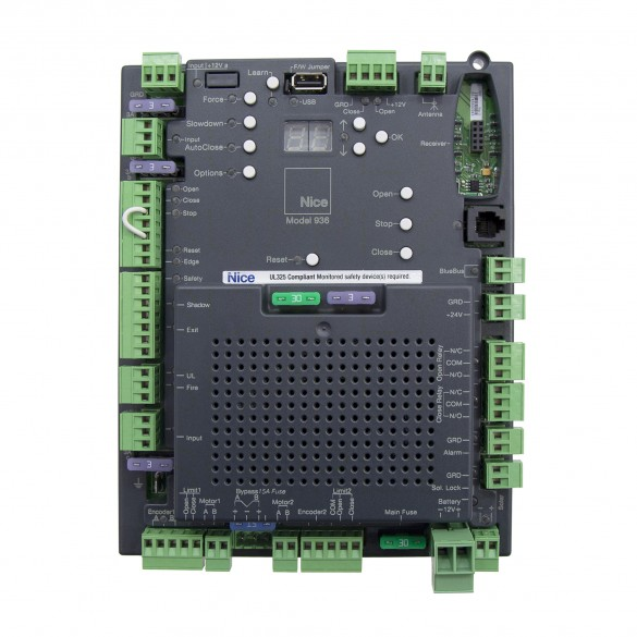 Nice Apollo 936 Control Board for 1550 / 1650 Gate Openers UL325 2016