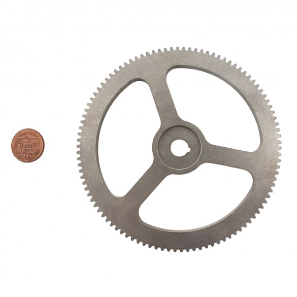 Spur Gear (penny shown for scale)