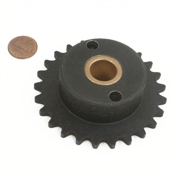 Nice Apollo 35B25 Quick Release Sprocket (penny shown for scale)