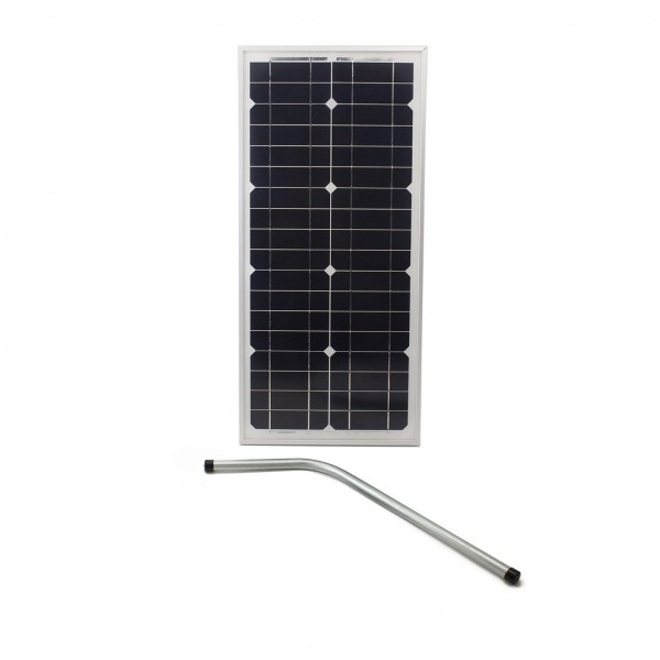 Nice Apollo SP10W24V Gate Opener Solar Panel (10 watts) for Gate Openers includes Mounting Bracket - 24VDC