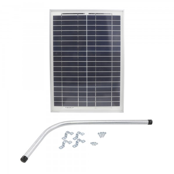 Gate Opener Solar Panel (20 Watts) With Mounting Bracket -12V