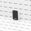 Nice Apollo Inti 2-Channel Mini Transmitter INTI2 - Black (Grid Shown For Scale)